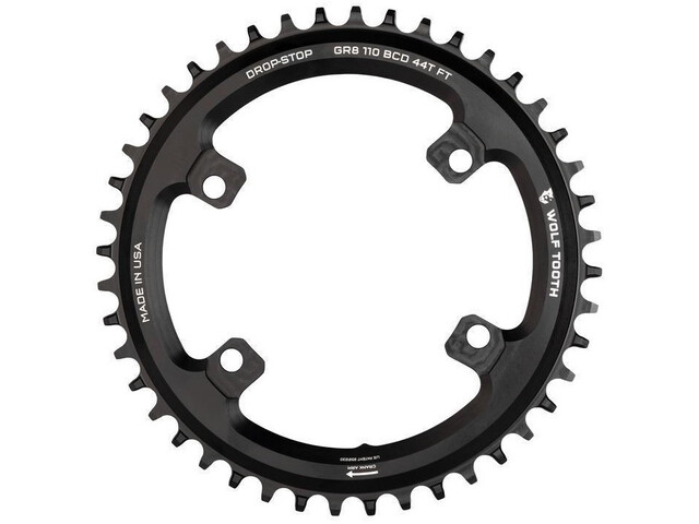 Wolf Tooth Kettingblad Ø110mm BCD 4-Bouts Shimano GRX, black